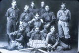 McKinley High School Baseball team. Photograph. 1902