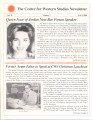 CWS Newsletter - Fall 2000